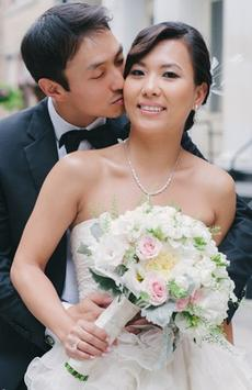Modern New York Wedding Captured by Judy Pak Photography