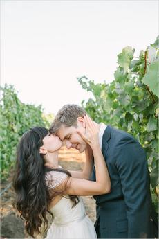 Romantic Napa Valley Wedding Captured by Kirsten Julia Photography