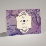 Antique Charm - Lavender - Note Card and Envelope