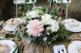 dahlia tablecentre by The Rose Shed