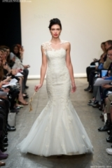 Ines Di Santo Spring/Summer 2013 Wedding Dress Collection - Marghera - Guipure lace mermaid gown wit