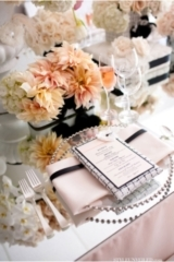 Chanel Wedding Inspiration / Black and Pink Elegant Wedding / Pam Scott Photo / Karen Tran Events /