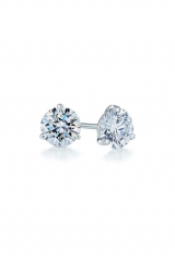Kwiat 0.25ct tw Diamond & Platinum Stud Earrings