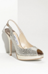 Jimmy Choo 'Clue' Glitter Slingback Pump Nordstrom Exclusive