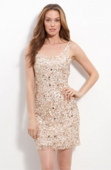 Pisarro Nights Short Sequin Sheath Dress