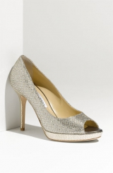 Jimmy Choo 'Luna' Open Toe Pump