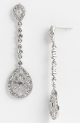 Nina 'Maegan' Filigree Chandelier Earrings
