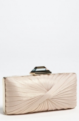 Sondra Roberts Pleated Clutch