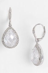 Nadri Pear Drop Earrings (Nordstrom Exclusive)