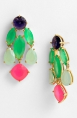 kate spade new york statement chandelier earrings