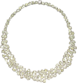 Exclusive Champagne Bubbles Wreath Necklace