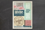Eclectic Wedding Invitations by cadence paige desi...