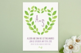 Sweet Garden Wedding Invitations by Max and Bunny