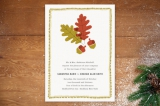 One Fine Autumn Day Wedding Invitations by Oscar &...