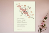 Ring Bouquet Wedding Invitations by Courtnie Johns...