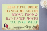 You In or What Save the Date Cards by hi-lighter ...