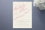 Winter Flourish Wedding Invitations by annie clark