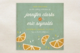Citrus Lovin' Save the Date Cards by Christine Loo