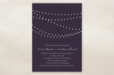 Midnight Vineyard Wedding Invitations by Design Lo...
