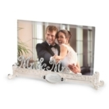 Mr. & Mrs. Personalized Wedding Picture Frame
