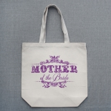 Vintage Mother of the Bride Tote