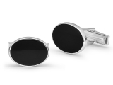 Oval Black Onyx Cufflinks