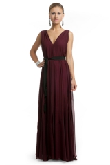Burgundy Bliss Gown