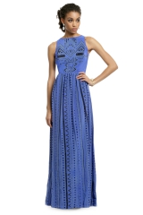 Into the Blue Tribal Gown