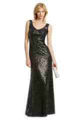 Masquerade Sequin Gown