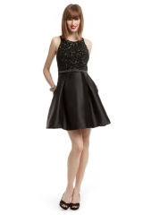 Old Hollywood Sequin Dress