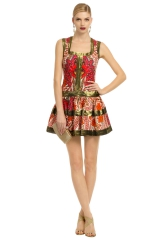 Pumped Up Paisley Dress