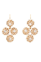 Putting on the Ritz Chandelier Earrings