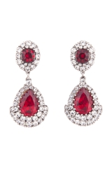 Royal Ruby Earrings