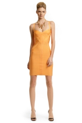 Tangerine Margarita Dress