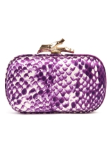 Thai Purple Snake Clutch