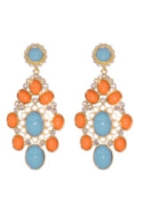 Venetian Drop Earring