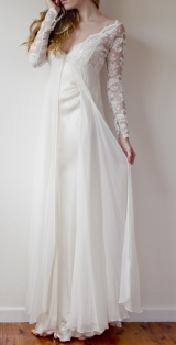 Grace loves lace Monet lace gown robe