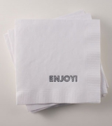 Cocktail Napkin: Enjoy! (Marquee)