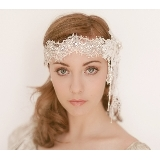 1920s LACE DECO HEADBAND