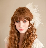 Perfect Plume Bridal Fascinator