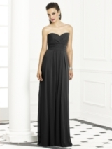 After Six Bridesmaids Style 6669 in black