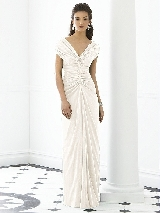 After Six Bridesmaid Dress 6652 in ivory