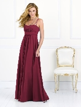 After Six Bridesmaid Style 6525 in burgundy