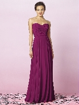After Six Bridesmaids Style 6639 in merlot