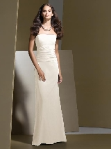 Dessy Bridesmaid Style 2723 in ivory