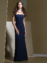 Dessy Bridesmaid Style 2723 in midnight