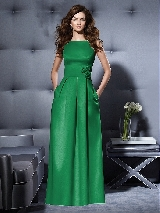 Dessy Collection Style 2796 in shamrock