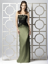 Dessy Collection Style 2849 in moss
