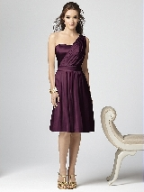 Dessy Collection Style 2862 in bordeaux