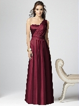 Dessy Collection Style 2863 in burgundy